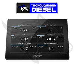 Sct Gtx Performance Tuner Monitor For 2008 2016 Ford 6 7l Powerstroke