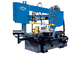 New Doall Dcds 600sa Dual Column Semi Automatic Band Saw 3040