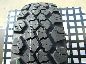 2 New Tires 235 75 15 Terra Commander Hi Traction Mud Snow Winter P235 75r15xl