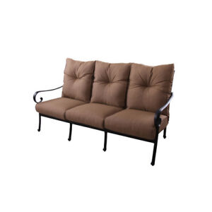 K B Patio Santa Anita Sofa With Cushions
