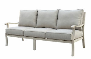 Darby Home Co Caressa Aluminum Outdoor Sofa