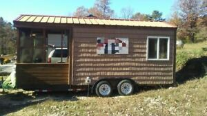 Bbq Concession Trailer With Porch For Sale In Missouri