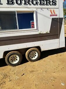 8 X 18 Food Concession Trailer For Sale In New Mexico