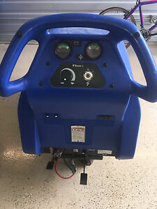 Clarke Fusion 20ix Burnisher Buffer Floor Cleaning Machine Low Reserve