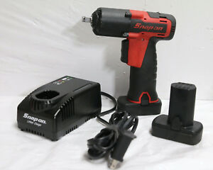 Snap on Ct761a 14 4v 3 8 Impact Wrench Gun Red 439