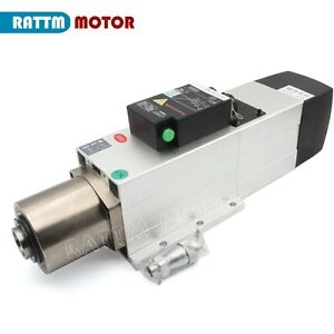 4 5kw Atc Motor 24000rpm With Air Cooled Spindle Iso30 220v Automatictool Change