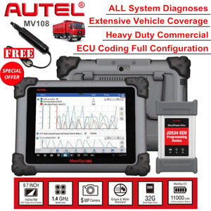 Autel Maxisys Ms908cv Heavy Duty Diesel Truck Obd2 Auto Diagnostic Scanner Tool