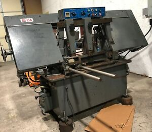Automatic 15 Cut Off Band Saw Lian Feng Bs 15a Good Condition