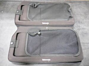 Tektronix Firm Fitted Snap On Carrying Pouch For Unknown Module lot Of 2