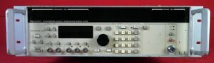 Gigatronics 6100 2 8 Synthesized Signal Generator 2 0 8 4 Ghz Options 03
