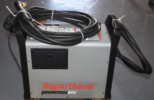 Hypertherm Powermax600 Plasma Cutter 200 240vac 1ph Power Input