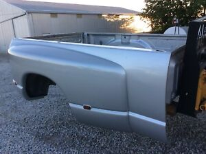 03 08 Silver Dodge Ram Dually Long Bed Box Tailgate Rust Free 3500 Drw