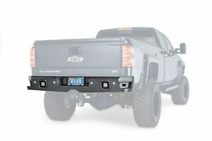 Warn Ascent Rear Bumper Black 14 18 Gm Silverado Sierra 1500 2500 3500 96550