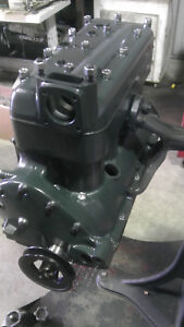 Model A Ford Pressurized Long Block Engine New Rods Counterweighted 1928 31