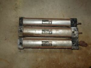 Aro Air Cylinders Lot Of 3