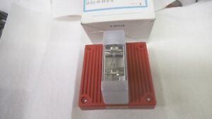 Wheelock Eh el1 wm 24 vf r Fire Alarm Horn With Strobe 18 31 Vdc 088 Amp Nos