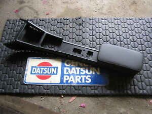 Datsun 70 8 71 240z Series 1 Oem Manual Center Console W New Hinged Tray Lid