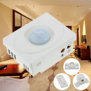New Dc 12v Ir Infrared Security Motion Movement Sensor Light Detector Switch Us