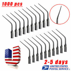 1000 Dental E3 Endodontic Ultrasonic Scaler Endo Tip Fit Ems Woodpecker New sale