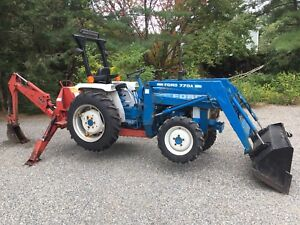 Ford 1710 Farm Tractor 770a Loader 4wd Package