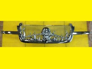 Skull Grille Chevrolet Silverado 2003 2005 Chrome Custom 19168629