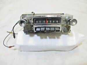 1964 1966 Mustang In Dash Radio With Knobs