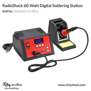 Radioshack 60 watt Digital Soldering Station