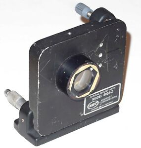 Newport Research Model 600a 2 Adjustable Optical Mount Assembly