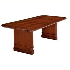 Flexsteel Antigua 8 Conference Table With Slab Base In Cherry