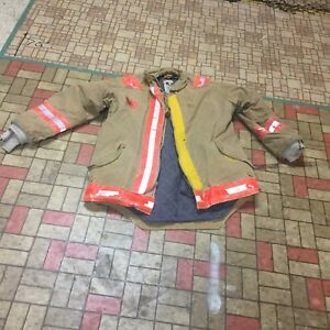 Firefighter Gear Turnout Jacket Coat Morning Pride 42 32 Use Costume