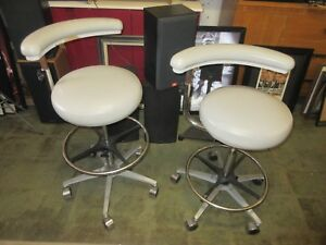 Dental Dentist Doctor Assistant Hygienist Stool Chair Medical Local Pick Up