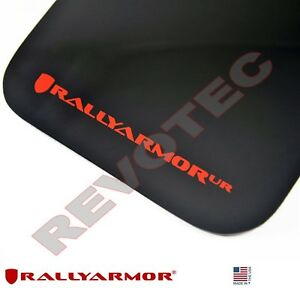 Rally Armor Mud Flaps For 2010 2013 Mazda3 Speed3 W Red Logo