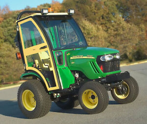 Complete Curtis Soft Sided Cab For John Deere 2320 2520 2720 Compact Tractor