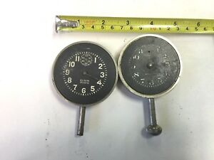 2 Vintage Car Clocks For Parts 28 Dodge Cadillac Packard Stutz Buick Ford