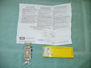 Hubbell Hbl1388i Toggle Switch New 1388 Double Pole Dt Center Off 30a Transfer