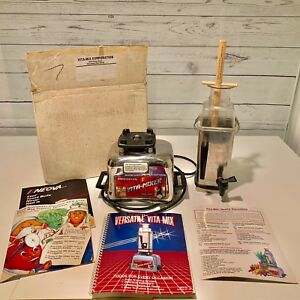 Vitamix Blender Commercial Vita mixer Maxi 4000 With Recipe Book