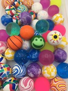 400 Superballs 2 Super Bouncy Balls Gacha Vending Mid usa Westcoast Super Balls