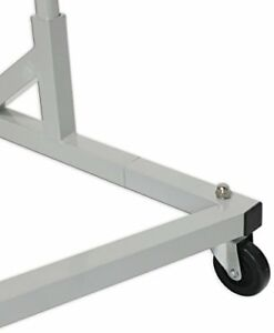 Simple Houseware Industrial Grade Z base Garment Rack 400lb Load With 62