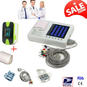 Portable Digital Ecg Monitor Heart Beat Monitor Ekg Machine With Software Usps