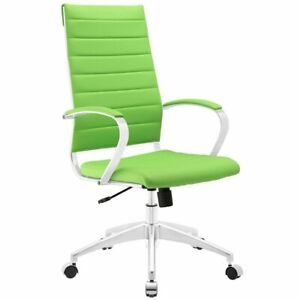 Modway Jive Modern High Back Office Chair In Bright Green