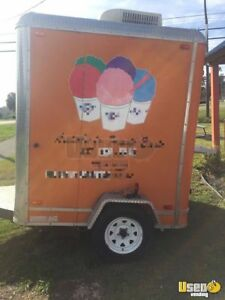 2010 6 X 9 Food Snoball Concession Trailer For Sale In Alabama