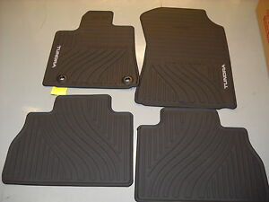 2012 2013 Toyota Tundra 4 Pc All Weather Floor Mats Oem Pt908 34121 20