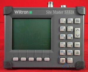 Anritsu S331a Sitemaster 25 To 3300 Mhz Cable Antenna Analyzer