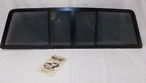 Fits Datsun Nissan King Cab Pickup Truck Sliding Rear Window Glass 1980 1986