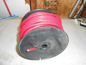 128 Feet Awg 6 Red Stranded Copper Wire