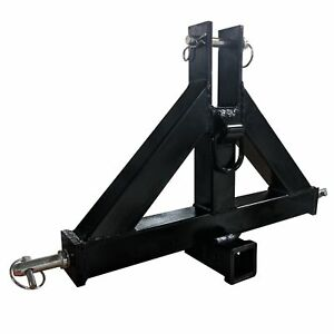 Titan Heavy Duty Category 1 3 point 2 Receiver Hitch Quick Hitch Compatilbe