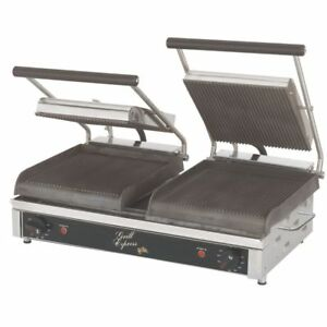 Star Gx20ig Grill Express 20 Grooved Sandwich Grill