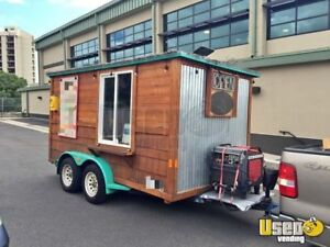 Coffee Concession Trailer For Sale In Hawaii