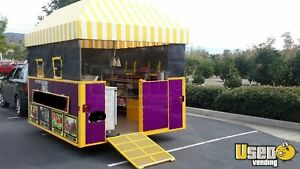 2012 8 X 10 Food Concession Trailer For Sale In California