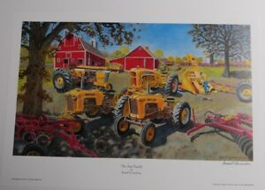 Russell Sonnenberg Minneapolis Moline Tractor Art Print Titled Star Family